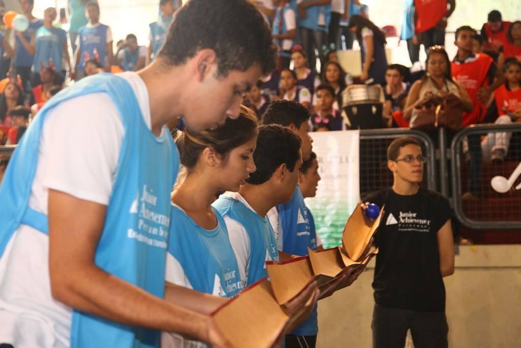 Junior Achievement Pernambuco realiza nova edição da Gincana de Miniempresas